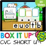 Box it Up: Short U CVC Words Spelling Kindergarten Reading