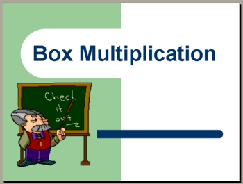 Box (lattice) multiplication