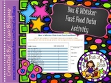 Box 'n Whisker Data for Local Fast Food Restaurants