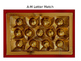 Box of Chocoalte ABC File Folder Game