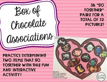 Box of Chocolate Associations