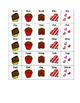 Box of Chocolate CV, CVC, CVCV Word Shapes