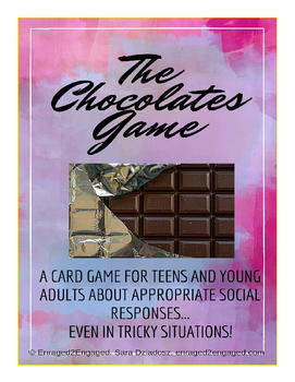 Box of Chocolates: A Game About Socially Appropriate Responses