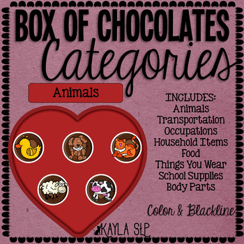 Box of Chocolates: Categories