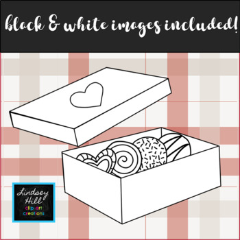Box of Chocolates {Clip Art Set}