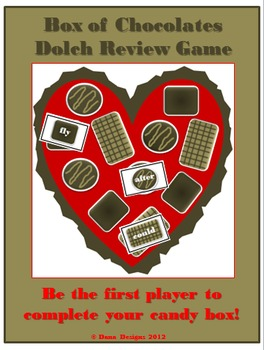 Box of Chocolates Dolch Review Game