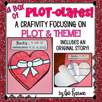 Plot Craftivity for Valentine's Day