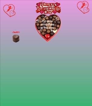 Box of Chocolates Smart Board Attendance