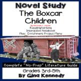 The Boxcar Children, Novel Study & Enrichment Project Menu