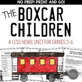 Boxcar Children Book #1 CCSS Novel Study Unit for Middle Grades