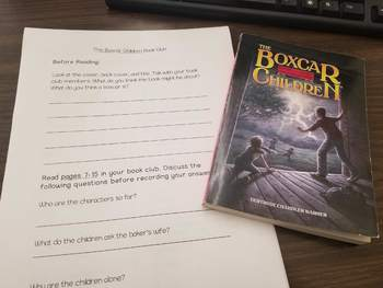 Boxcar Children Book Club Packet