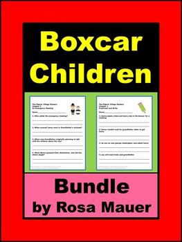 Boxcar Children Book Unit Bundle