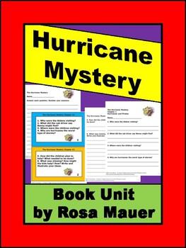 Boxcar Children Hurricane Mystery Book Unit