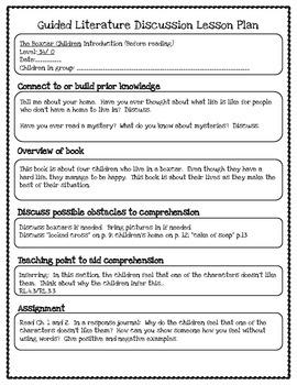 Boxcar Children Literature Study Plans