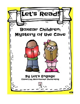 Boxcar Children Mystery of the Cave: Let's Read! (Reading Response Packet GR O)