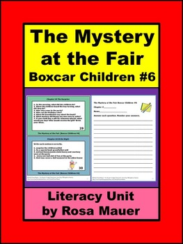 Boxcar Children Mystery at the Fair