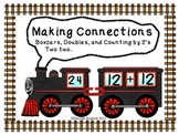 Boxcars, Doubles and Counting by 2s Math Center