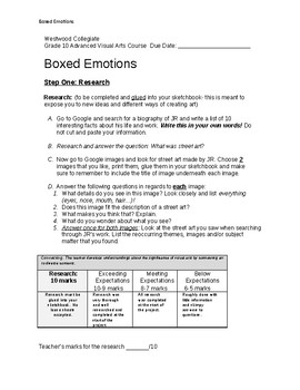 Boxed Emotions
