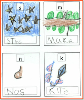Boxes For Beginning Letter Sounds