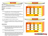Boxes: Finding Volume Game