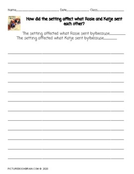 Boxes For Katje by Candace Fleming Lesson Plan & Activities