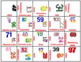 Boxes Game - Digital - numbers 0-100 (Spanish)