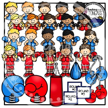 Boxing Clipart Bundle