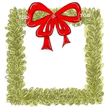 Boxwood Wreath Square with and without red bow Tracey Gurley Designs