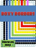 Boxy Borders - 10 Fun Colours to Brighten your Creations!