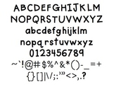 Boxy Print: Font for Personal + Commercial Use