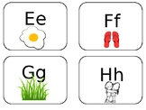 Boy Alphabet Cards