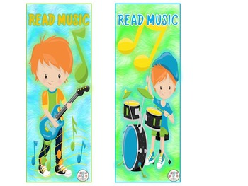 Boy Band Bookmarks