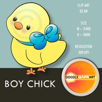 Boy Chick Clip Art