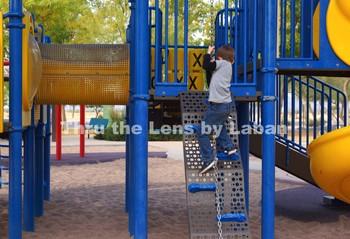Boy Climbing Sequence Stock Photos #263-267
