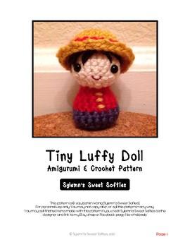 Boy Doll Amigurumi Crochet Pattern & Tutorial, for beginners learning Fiber Arts