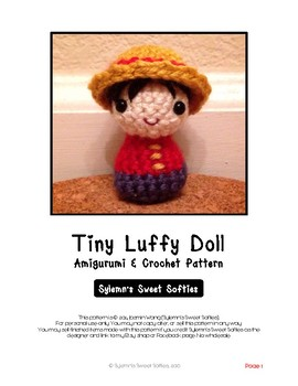 Fiber Art Craft Beginners: Boy Child Doll Amigurumi Crochet Pattern Tutorial