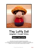 Fiber Art Craft Beginners: Boy Child Doll Amigurumi Croche