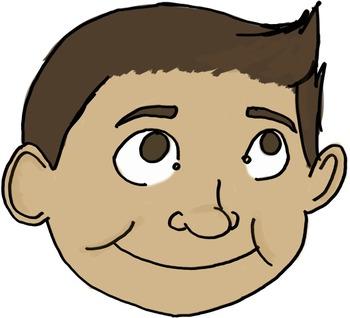 Boy Expressions Clip Art
