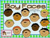 Clipart-Boy Faces