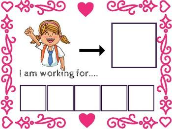 Boy/Girl Customizable Token Board