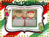 Boy & Girl Elf Christmas Writing Craftivity {Includes Lite
