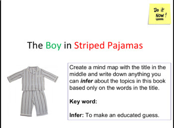 Boy In The Striped Pajamas - Chapter 1