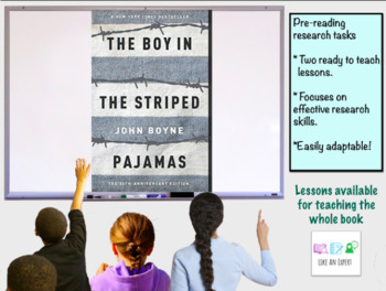 Holocaust introduction for The Boy in the Striped Pajamas - 2 full lessons
