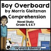 Boy Overboard Novel Study: Comprehension