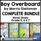Boy Overboard Novel Study Bundle