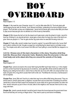 Boy Overboard Planner, Activities & Examples - Immigration