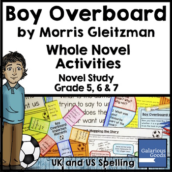 Boy Overboard Novel Study: Whole Novel Activities