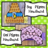 Boy Pilgrim Hat, Girl Bonnet Hat! Thanksgiving Craft, Nove