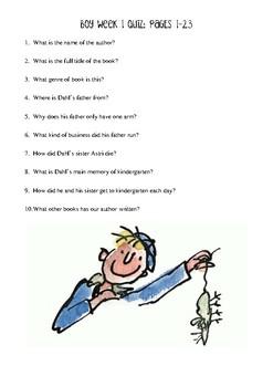 Boy Quizzes