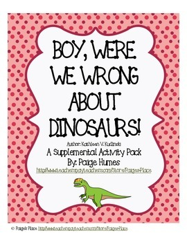 Boy, Were We Wrong About Dinosaurs Supplemental Pack